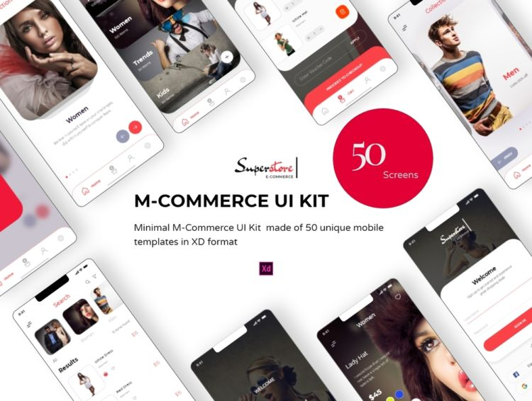 Superstore eCommerce Free UI kit