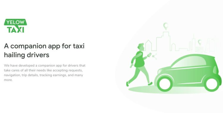 Taxi Mobile App UI Kit Free for XD