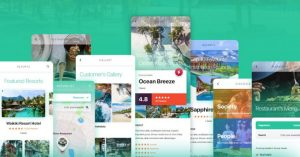Travel Guide Free UI Kit for XD