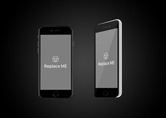 iPhone SE (2020) Free Mockup