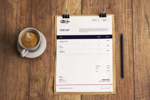 2 Modern Invoices Free Templates