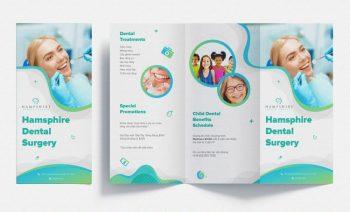 6 Tri-Fold Brochure Free Mockups