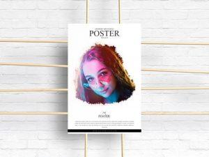 Advertising Poster Free Mockup