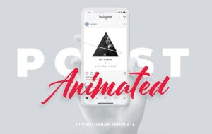 Animated Party Instagram PSD Templates (Free)