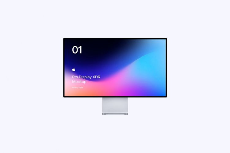 Apple Pro Display XDR Free Mockup