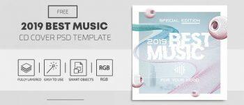 Best Music Free CD Mixtape Artwork (PSD)