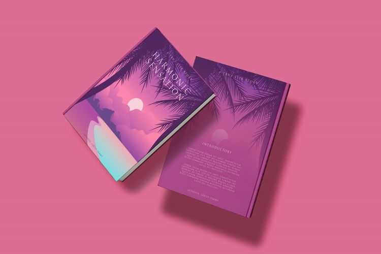 Book Cover Free Mockup Set
