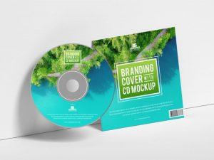 Branding CD Cover Free Mockup