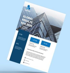 Business Agency vol2 Free Flyer Template (PSD)