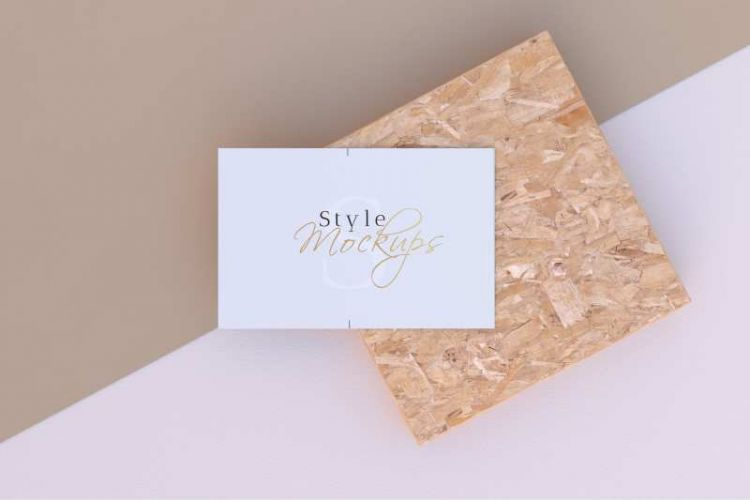Business Card Kit Free Mockup