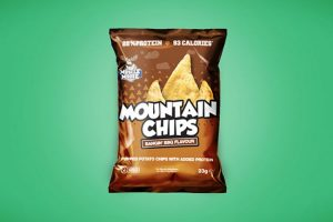 Classic Chips Packaging Free Mockup
