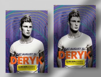 Club Party Free Flyer Template (PSD)