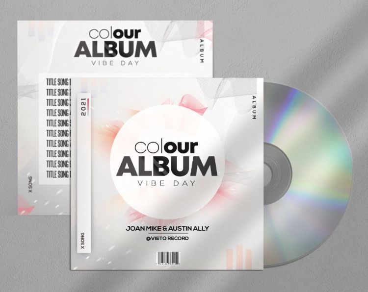 Colour - Free CD/Mixtape Cover Template (PSD)