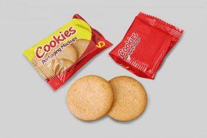 Cookies Packaging Free Mockup