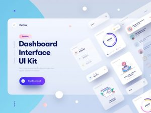 Dashboard Elements UI Kit Free Sketch