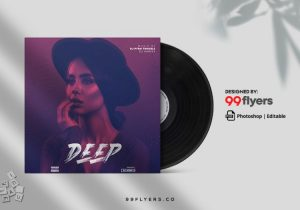 Deep – Free RnB CD/Mixtape Cover Template (PSD)