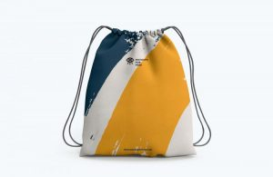 Drawstring Bag Free Mockup