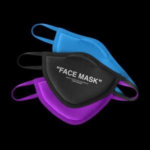 Face Mask Free Realistic Mockup (PSD)