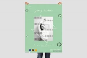 Fashion Store – Free PSD Poster Template