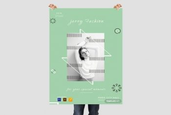Fashion Store - Free PSD Poster Template