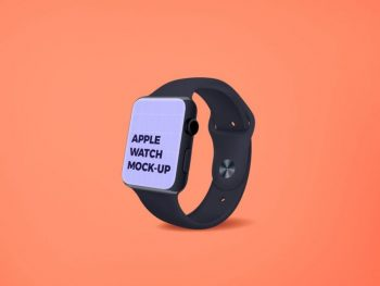 Free Apple Watch Screen Mockup