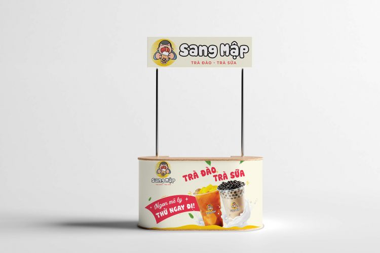 Free Booth Mockup (PSD)