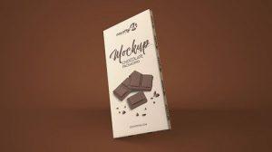 Free Chocolate Package Mockup (PSD)