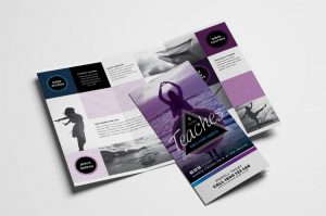Free Church TriFold Brochure PSD Template