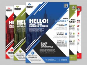 Free Corporate Flyer Template (PSD)