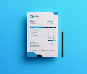 Free Corporate Invoice Template (PSD)