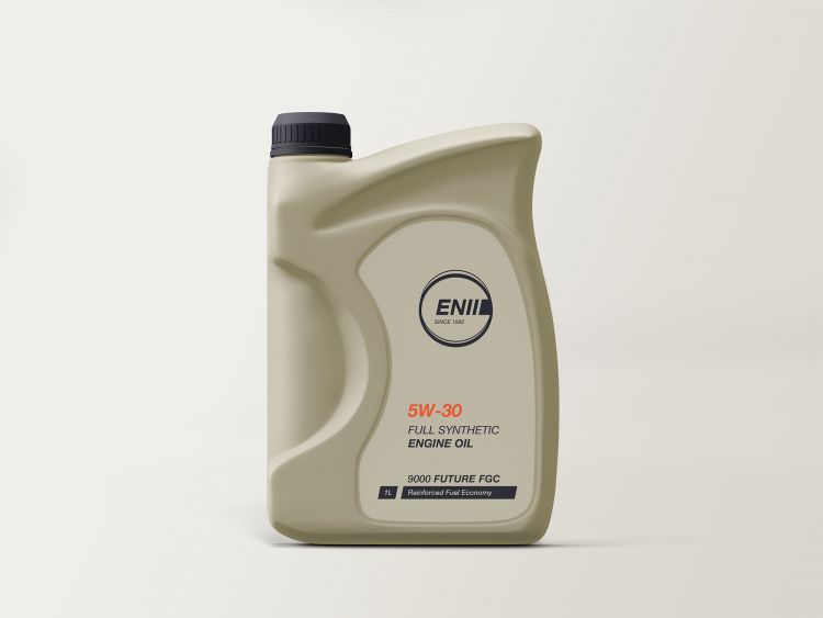 Free Engine Oil Mockup (PSD)