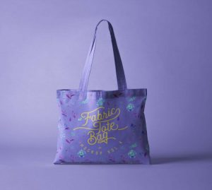 Free Fabric Tote Bag Mockup (PSD)
