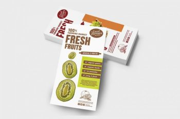Free Farmers Market DL Flyer Template (PSD)