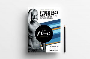 Free Fitness Gym Flyer Template (PSD)