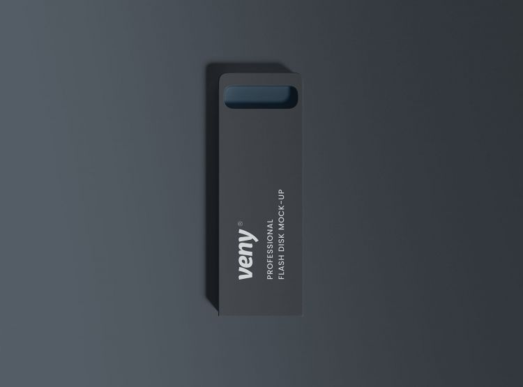 Free Flash Disk Mockup (PSD)