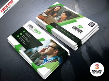 Free Multipurpose Business Card Template (PSD)