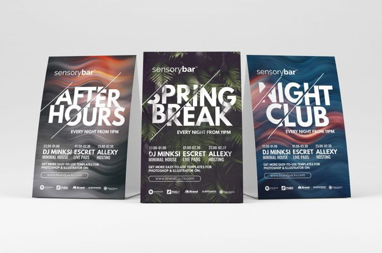 Free Nightclub Flyer Template (PSD)