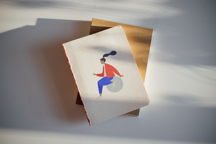 Free Sketchbook Mockup (PSD)