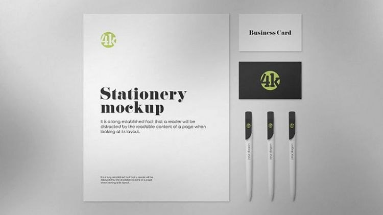 Free US Stationery Mockup (PSD)