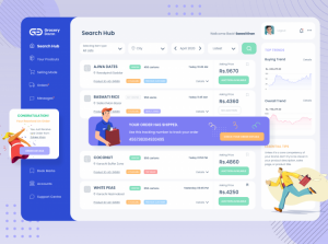 Free e-Commerce Dashboard Template XD