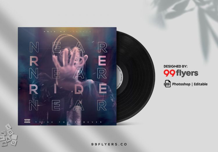 Hip Hop Free Mixtape CD Cover Template (PSD)