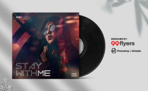 Hip Hop Freestyle Free Mixtape CD Cover Template (PSD)