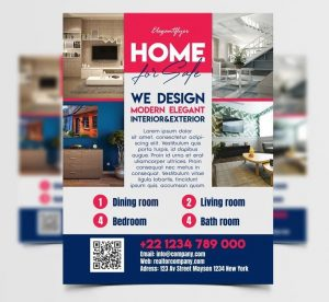 Home Sale Free Flyer Template (PSD)
