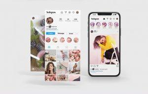 Instagram Stories Free Mockup