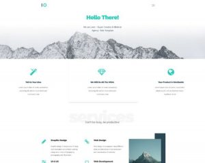 Leon – PSD Free Web Agency Template