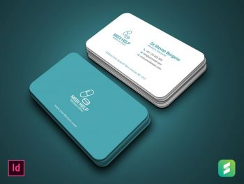 Medical Business Card Free Template
