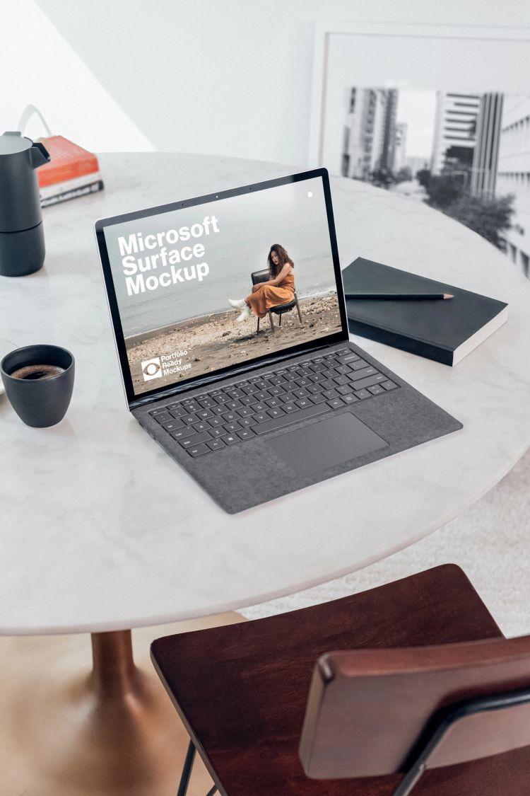Microsoft Surface Free Mockup