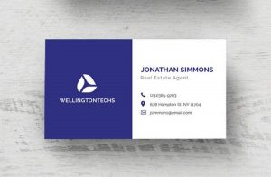 Minimal Business Card Free Template (PSD)