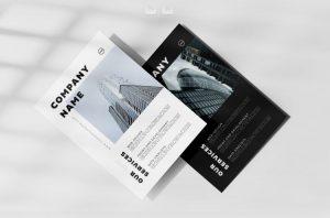 Minimal Corporate Ad Free Flyer Template (PSD/AI)