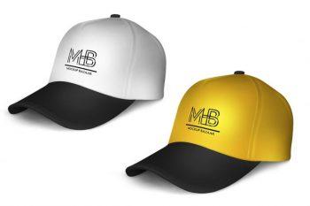 Minimalistic Cap Free Mockup